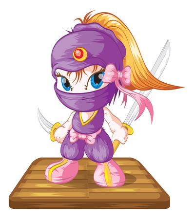 cute ninja