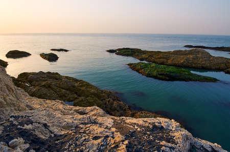 The coast sunrise scenic