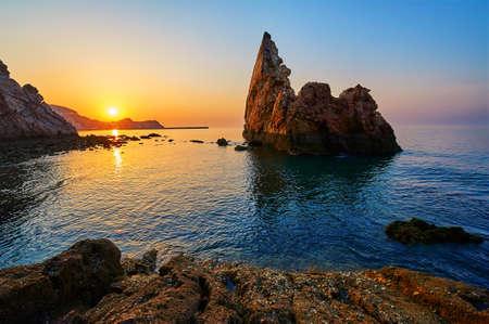 海岸景観 写真素材