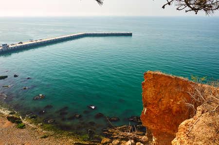 The coast landscape Stock Photo