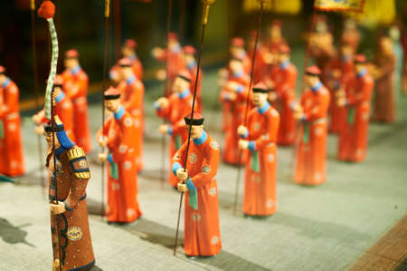 Wedding Procession of Qing dynasty of China.