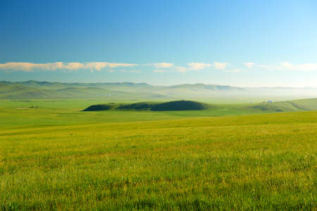 The Muzigler river valley of Hulunbuir grassland of China.