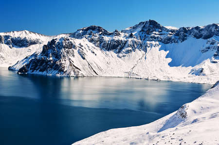 Changbai mountain of China.