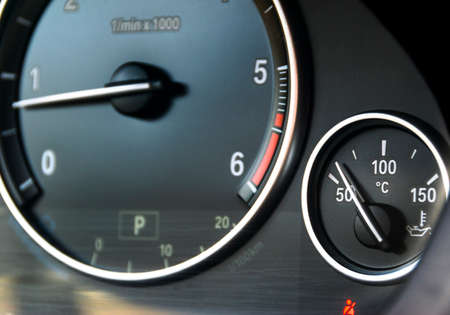 Check Ingine Icon On Modern Car Dashboard Closeup Stock Photo - Car image sign of dashboardcar dashboard icons stock photospictures royalty free car
