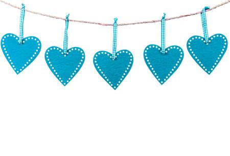 情人节卡片。核心框架。母亲节的浪漫装饰元素。情人节。女子的一天。情人节贺卡孤立在白色的背景。心型框架。副本的空间。空的空间