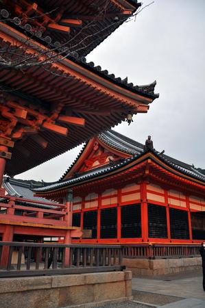 dera: Kiyomizu-dera Temple at Kyoto, Japan