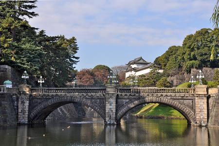 Tokyo, Imperial Palace   Nijubashi Bridge