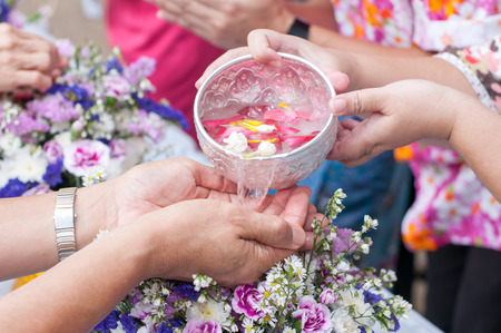 Songkran ceremony, Thai New Year
