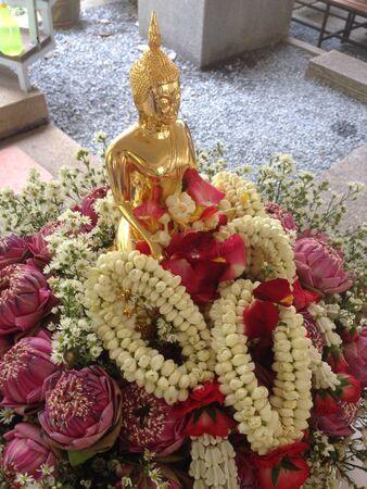 songkran: Songkran ceremony Stock Photo