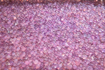 silica: Silica gel after use