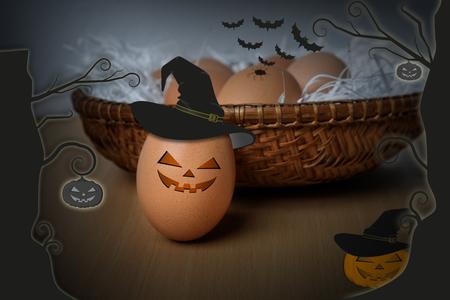 halloween eggs