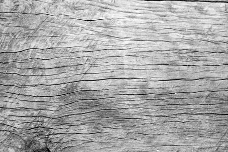 Old cracked wood grain texture background Stock Photo