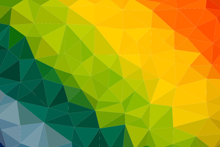 abstract multicolor low poly style vector illustration graphic background Vector