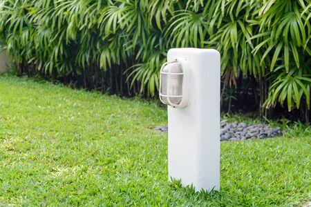 street lamp: Street lamp in the garden