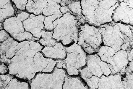 sequias: pista de la sequía - tierra agrietada