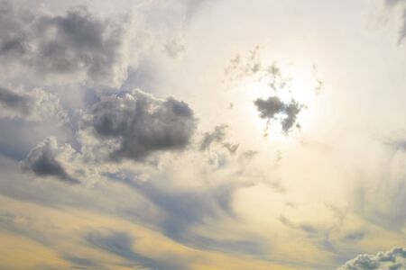 cloud scape: sky with clouds, cloud scape