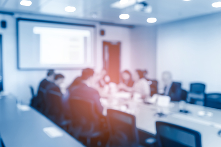 Abstract blurred of business meeting in meeting room. Business Concept. Фото со стока - 110200156