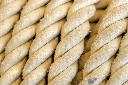 rope on winch roll machine