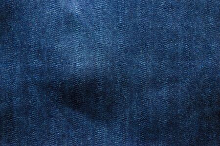 close-up view dark blue jeans for background. denim texture