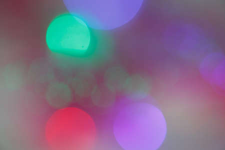 9mm ammo: colourful light bokeh background