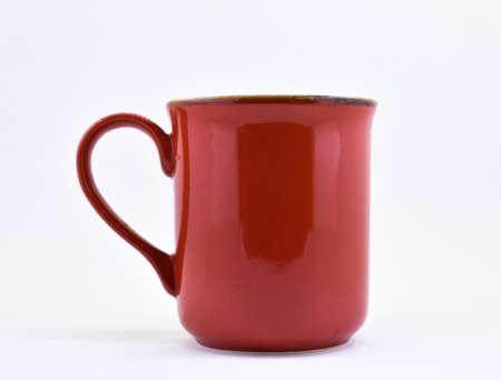 Ceramic Coffee Mug. coffee white background