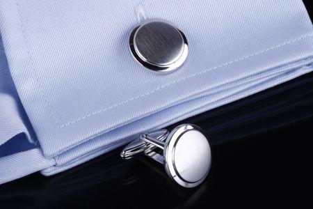 Cufflinks on business shirt Stock Photo - 4607277