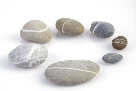 Circle of pebbles