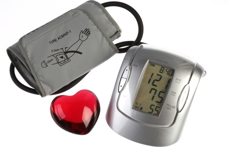 Blood pressure gauge with  normal  values