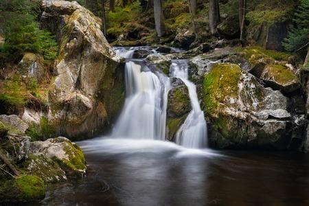Krai Woog Gumpen Waterfall in Black Forest, Germany