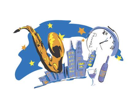 jazz time: Newyork Night