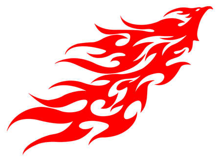 phoenix bird: phoenix bird  Illustration