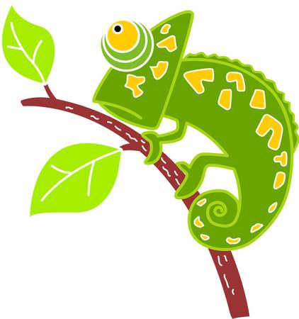 Chameleon Standard-Bild