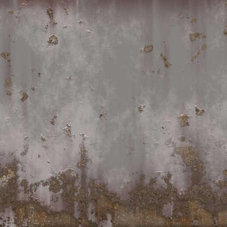 rusty nail: Muro de metal Foto de archivo