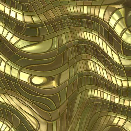 an alloy: gold metal