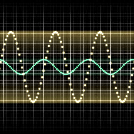 sound wave Stock Photo - 9344899