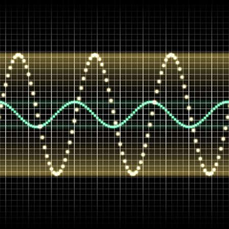 sound wave Stock Photo - 9344899