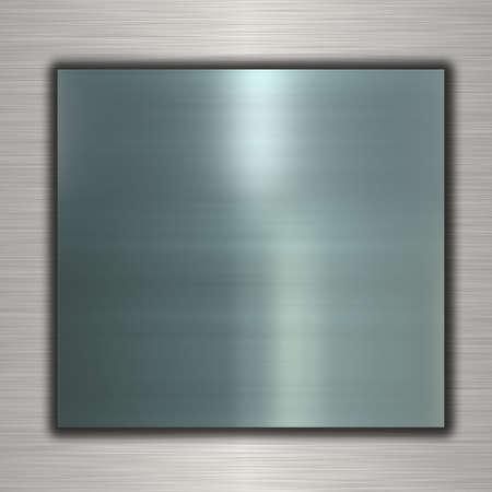 sheet iron: metal banner