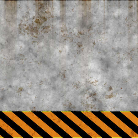 brushed aluminum: grunge wall