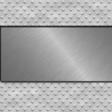 metal banner Stock Photo - 9394845