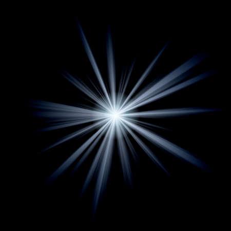 white star Stock Photo - 9394857