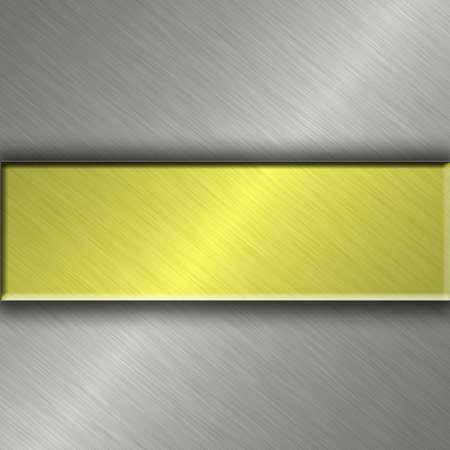 metal banner Stock Photo - 9878191