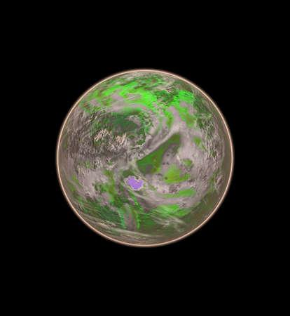 green planet Stock Photo - 10102655
