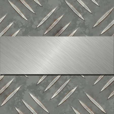 metal banner  photo