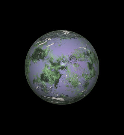 isolated planet Stock Photo - 10102652
