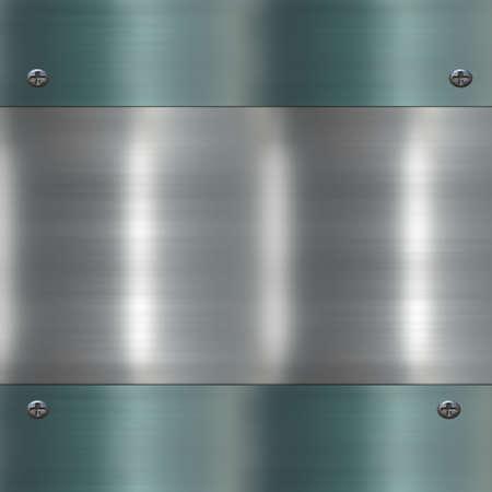 metal banner Stock Photo - 10828019
