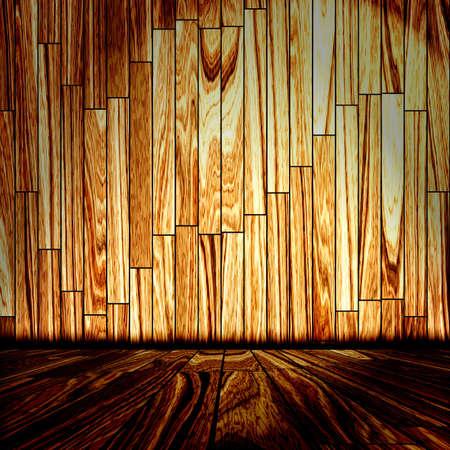 wooden room Stock Photo - 10828093