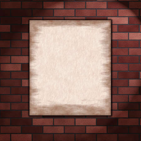 paper on wall Stock Photo - 10828099
