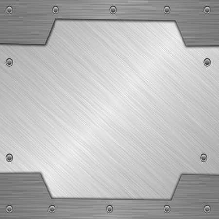 silver metal Stock Photo - 10869487