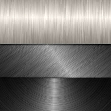 brushed metal photo