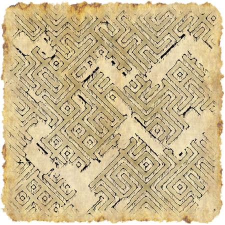 wall maps: viejo mapa